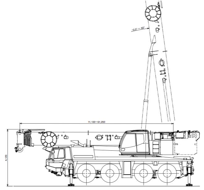 ATF-100G-4 寸法図