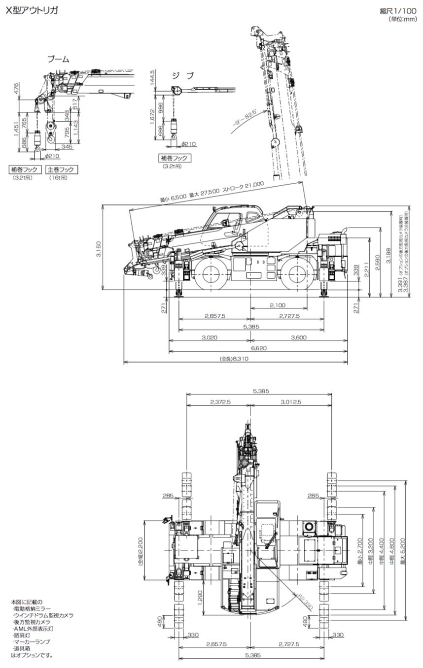 GR-160N-Ⅲ寸法図