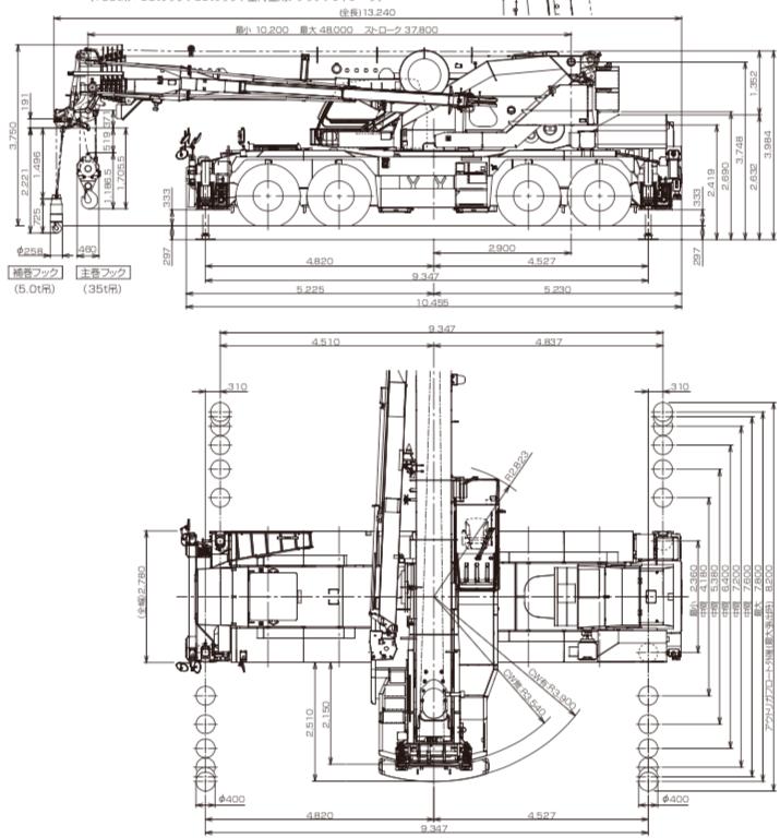 GR-1000N寸法図